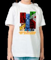 Детская футболка   Лига справедливости Америки