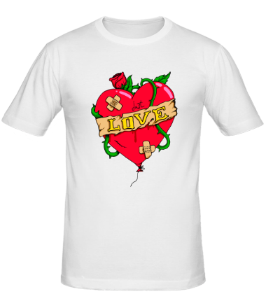 Мужская футболка  Just Love