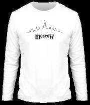 Мужская футболка с длинным рукавом Moscow
