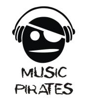 Мужская майка Music Pirates