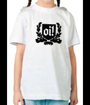 Детская футболка  Oi!