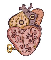Детская футболка  Стимпанк сердце