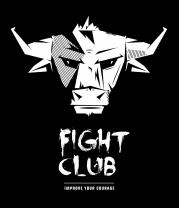 Женская футболка с длинным рукавом Fight club bull