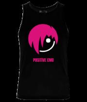 Мужская майка Positive Emo