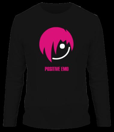 Мужская футболка с длинным рукавом Positive Emo