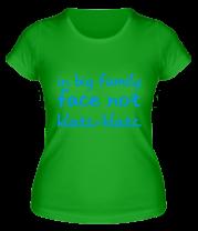 Женская футболка  In Big Family