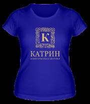 Женская футболка  Катрин