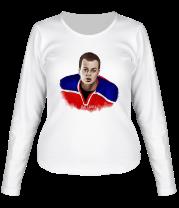 Женская футболка с длинным рукавом Медведи | Влад Канопка
