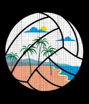 Женская майка борцовка Пляжный Волейбол