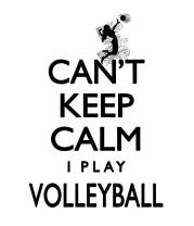Чехол для iPhone Cant Keep Calm Womens Volleyball