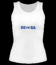 Женская майка борцовка Serega