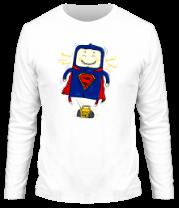 Мужская футболка с длинным рукавом Танцы-шманцы