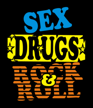 Бейсболка Sex Drugs Rock'n'Roll