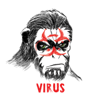 Бейсболка Simian Outbreak