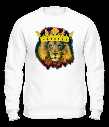 Толстовка без капюшона Король лев