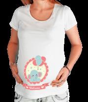 Футболка для беременных Welcome baby