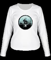 Женская футболка с длинным рукавом Охотники против Зефирного