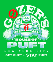 Женская футболка  House of Puft