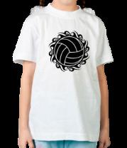 Детская футболка  Волейбольный мяч