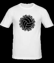 Мужская футболка  Волейбольный мяч
