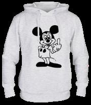 Толстовка Mickey Mouse & Fuck