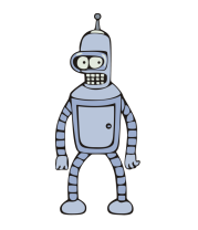 Толстовка без капюшона Футурама - Bender
