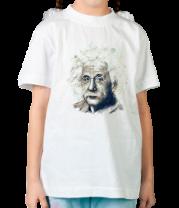 Детская футболка  Альберт Эйнштейн