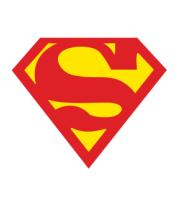 Женская футболка  Superman