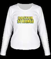 Женская футболка с длинным рукавом Dr. Strange Logo