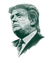 Детская футболка  Donald John Trump
