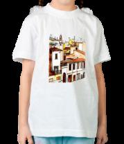 Детская футболка  Cтарый город