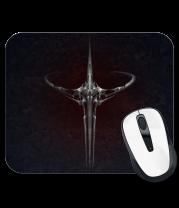Коврик для мыши Quake game logo