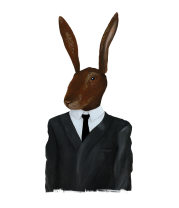 Женская футболка  David Lynch - Rabbit