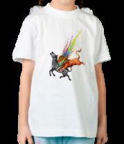Детская футболка  Убивает Однообразие