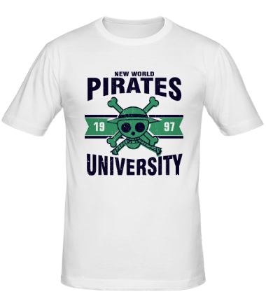 Мужская футболка  Пираты нового мира