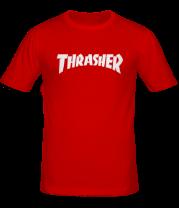 Мужская футболка   Thrasher skate life