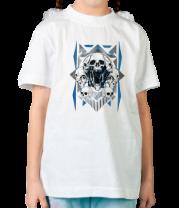Детская футболка  Скелет Арт