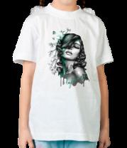 Детская футболка  Зелёная фея