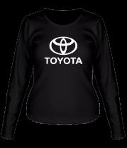 Женская футболка с длинным рукавом Toyota