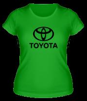 Женская футболка  Toyota