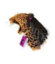 Детская футболка  Поющий леопард