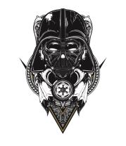 Женская футболка с длинным рукавом Darth Vader Art