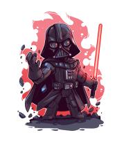 Женская майка борцовка Marah Darth Vader