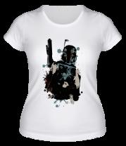 Женская футболка  Боба Фетт