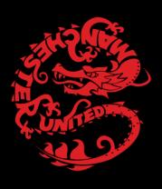 Толстовка Manchester United dragon