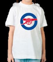 Детская футболка  Arsenal minilogo