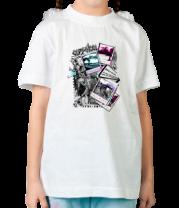 Детская футболка  Skate City Polaroid