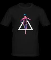 Мужская футболка  Майор в стелс атаке