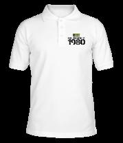 Футболка поло мужская На земле с 1980