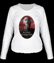 Женская футболка с длинным рукавом Рагнар Лодброк